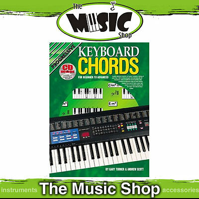 New Progressive Keyboard Chords Book & CD by Gary Turner & Andrew Scott