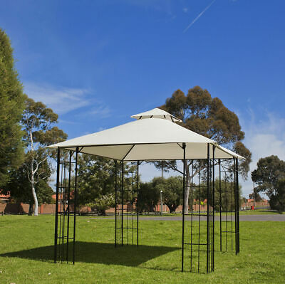 Gazebo 3x3m, Weather Resistant, Steel Frame Marquee Sunshade, easy fast assemble