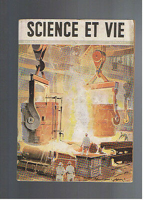SCIENCE ET VIE N°363 1947  metallurgie radio l'uranium automobile astronomie