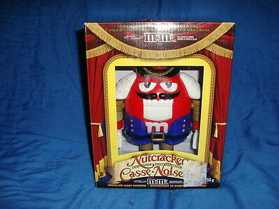M&M's Nutcracker 2009 Limited Edition Candy Dispenser