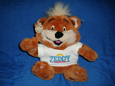 Zellers Teddy Bear ZEDDY Plush 13""