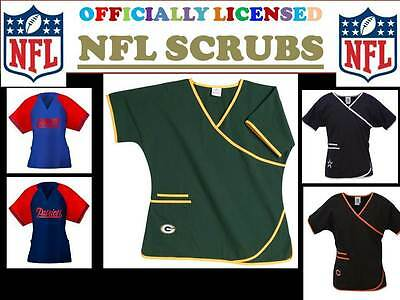 Nfl Scrub Pants-Nfl Scrub Top-Nfl Scrubs-Choose Your Team And Size-Newest Style