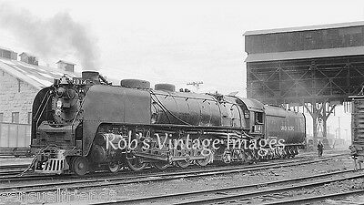 Union Pacific Steam train Locomotive 814 4-8-4 Norther Railroad Photo print UP