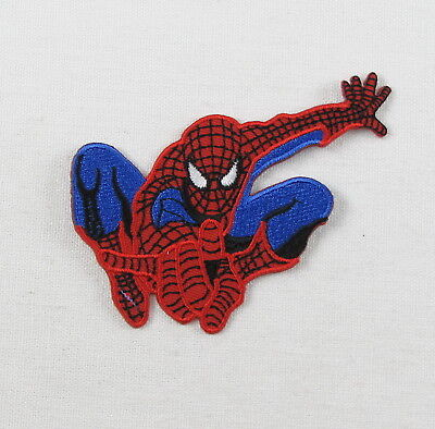 SPIDERMAN  EMBROIDERED  Iron On Sew On Patch