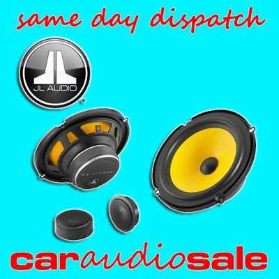"Jl Audio C1-650 6.5"" Inch 16.5Cm 2 Way Component 225W Car Van Taxi Door Speakers"