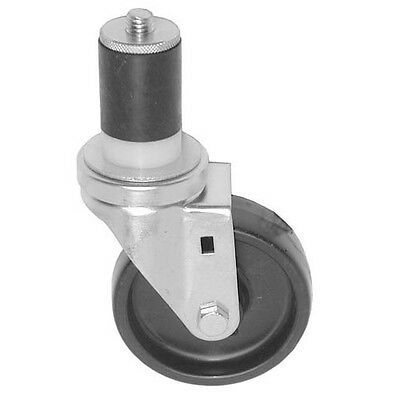 SWIVEL STEM CASTER 3 Wheel 1-1/2 OD TUBING CHG Beige Hub Grey CMS303BPN 262400