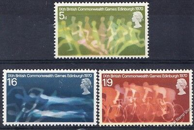 GB 1970 9th Commonwealth Games Set SG832-4 Unmounted Mint