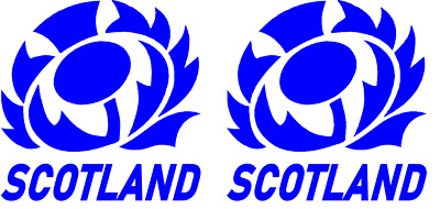 Scotland Rugby Face Tattoo X 2 Great For The Six Nations And More