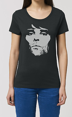 Ian Brown Ladies Music T Shirt The Stone Roses New Top Gift W22