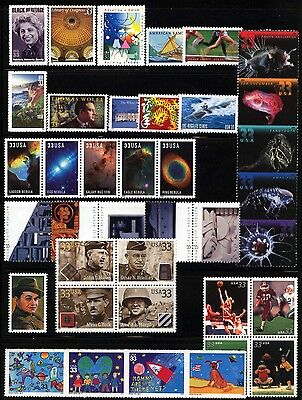 2000 Mint US Commemorative Year Set MNH PO Fresh