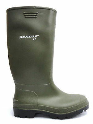 New Adults Boys Mens Ladies Rubber Dunlop Wellingtons Wellies Snow Boots Shoes