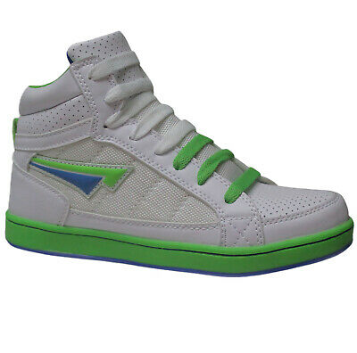Boys Ankle Hi High Top Girls Trainers Dance Skate Baseball School Boots Shoes