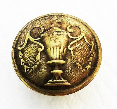 Architectural  Brass Federal Antique Hardware Cabinet Knob Drawer Pull Phyfe