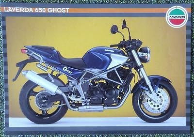 Laverda 650 Ghost Motorcycle Sales Brochure Circa 1996