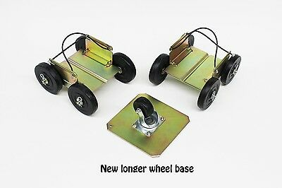 Steerable drivable snowmobile dollies shop caddy movable dolly Caddies