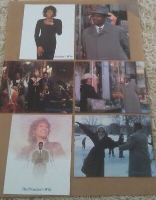 THE PREACHER'S WIFE MOVIE POSTER LOBBY CARD SET OF 6 ORIGINAL 11x14