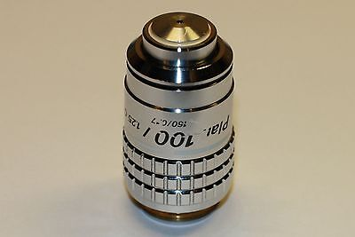 Nikon Plan 100X/1.25 160/0.17 Oil microscope objective