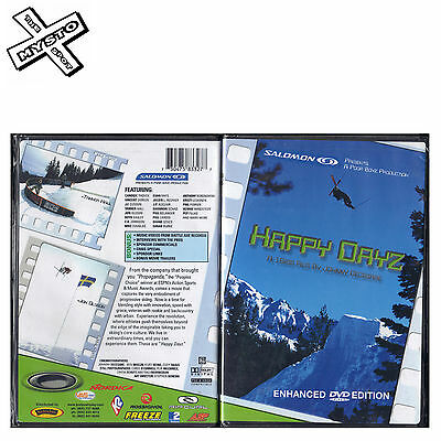 'happy Dayz' Ski Dvd Skiing Film Snow Movie Salomon Poor Boyz Enhanced Edition