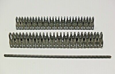 "Mato Heavy Plate Lacing / Belt Fastener 6.5""/7""   With Notched Pin - 1 Splice"