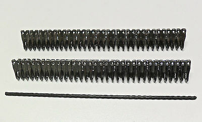 "Mato Heavy Plate Lacing / Belt Fastener  8.66""/9""  With Notched Pin - 1 Splice"