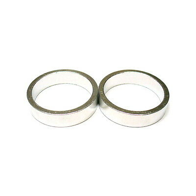 """gobike88 KREX silver alloy spacer for 1/"""" headset 4g//pc, 6 10 7 mm"""