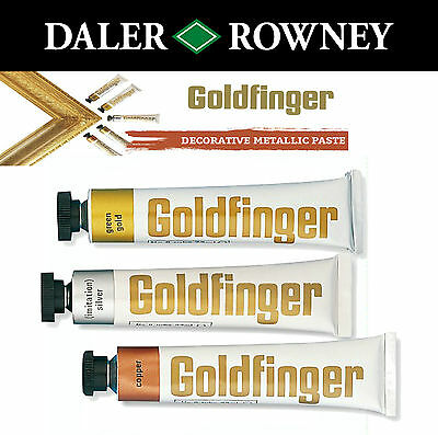 Daler Rowney Goldfinger Metallic Rub On Paste Picture Frames And Arts & Crafts