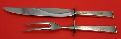 Golden Wheat by Gorham Sterling Silver Roast Carving Set 2pc