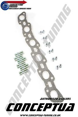 Cometic Exhaust Manifold Gasket, Stud & Nut Kit - For R32 GTS-T Fit Skyline