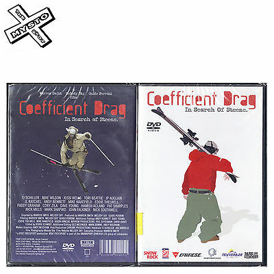 'coefficient Drag - In Search Of Steeze' Ski Dvd Skiing Film Snow Movie