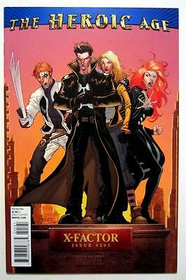 The Heroic Age X-Factor Marvel No. #205 Variant (Nm) Unread