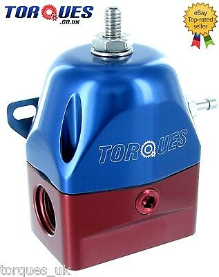 Torques AN -8 (JIC -8 ORB-8) EFI Adjustable Fuel Pressure Regulator 30-70 PSI