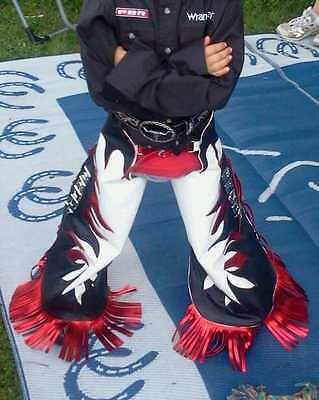 Youth Leadline Custom Made Western Rodeo Parade Show Chaps Chinks