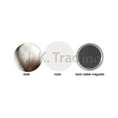 100 of 25mm Magnet Badge Button Supplies for Button Maker Badge Maker