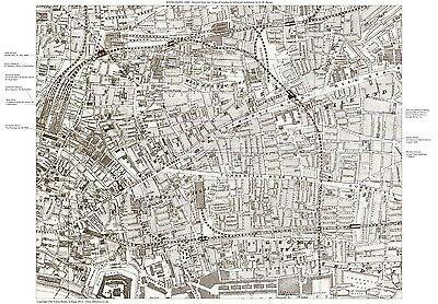 Jack the Ripper Locations Map - Whitechapel, London 1888