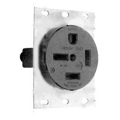 SINGLE RECEPTACLE ARROW HART/COOPER Angled 4 Wire 3 Phase 50A/250V 15-50R 381281