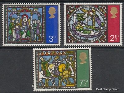GB 1971 Christmas SG894-6 Complete Set Unmounted Mint