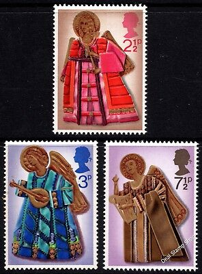 GB 1972 Christmas SG913-915 Complete Set Unmounted Mint