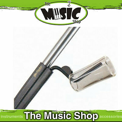 "New Jim Dunlop Slide & Pick holder for Microphone Stand - 7"" Long - J5015"