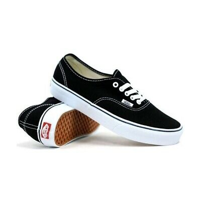 Vans Authentic Black White Shoes New Shoe Kingpin Skate Surf Australian Seller