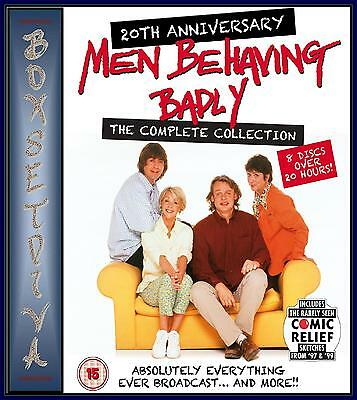 Men Behaving Badly - The Complete Collection  ***brand New Dvd ***