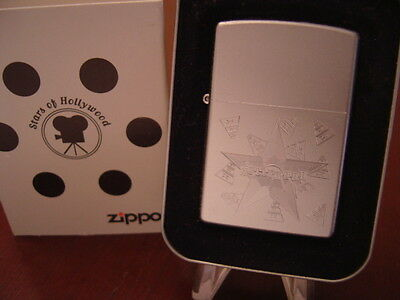 HOLLYWOOD STAR ZIPPO LIGHTER MINT IN BOX