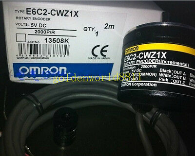 E6C2-CWZ1X 2000P/R NEW rotary encoder good in condition for industry use