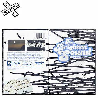 'the Brightest Sound' 16Mm Snowboard Dvd Film Snow Board Movie Warrior Films