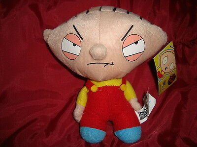 "Family Guy Stewie 2006 Nanco 6"" Plush W/Tags"