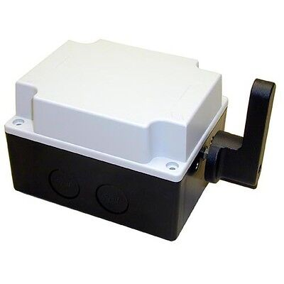 """DRUM CONTROL SWITCH 6"""" X 3-3/4"""" X 3-1/8"""" 40A/600V Inductive 32A 600V LOAD 421455"""