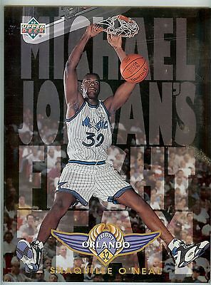 SHAQUILLE O'NEAL SHAQ 1993-94 UPPER DECK MICHAEL JORDAN'S FLIGHT TEAM FT-16