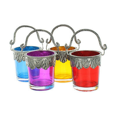 Decorated Glass Bucket