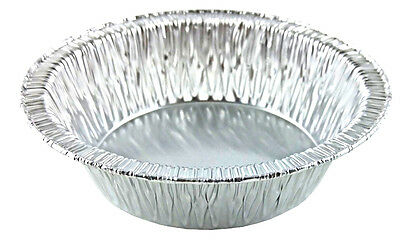 "Handi-Foil 5"" Tart Pan 50/PK - Disposable Mini Pot Pie Plate Tin HFA REF # 306"