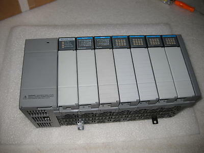 Allen Bradley AB SLC-500 13 Slot Rack 1746-A7 with Modules Used