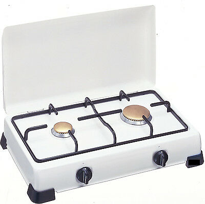 HORNILLO DOBLE A METANO / NATURAL 3,4 kw PLACA DE COCINA